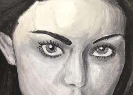 Grisaille Malerei Klasse 7